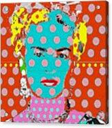 Frida Acrylic Print by Ricky Sencion