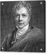 Friedrich W.j. Von Schelling Acrylic Print