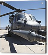 Front View Of A Hh-60g Pave Hawk Acrylic Print