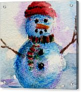 Frosty Aceo Acrylic Print