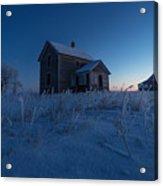 Frozen And Forgotten Acrylic Print