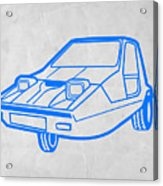 Funny Car Acrylic Print