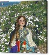 Gabriella Elizabeth Rossetti Acrylic Print