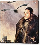 Game Of Thrones. Jon Snow. Acrylic Print
