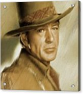 Gary Cooper, Vintage Actor Acrylic Print
