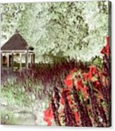 Gazebo Scenic Acrylic Print