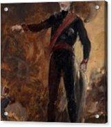 General Gebhard Leberecht Von Blucher Acrylic Print