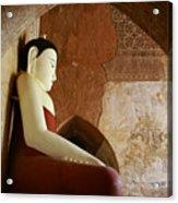 Geometric Buddha Acrylic Print
