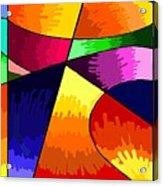 Geometry Abstract  Acrylic Print