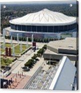 Georgia Dome In Atlanta Acrylic Print