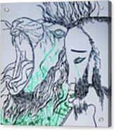 Gethsemanes Promise Acrylic Print