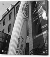 Giant Baseball Bat Adorns Acrylic Print