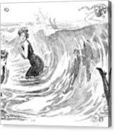 Gibson: Bather, 1902 Acrylic Print
