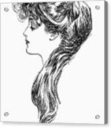Gibson Girl, 1903 Acrylic Print