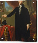 Gilbert Stuart - George Washington 1796 Acrylic Print