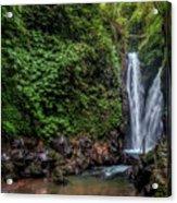 Git Git Waterfall - Bali Acrylic Print
