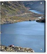 Glacial Lake Acrylic Print