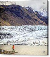Glacier Lagoon Acrylic Print