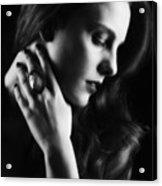 Glamorous Woman Acrylic Print