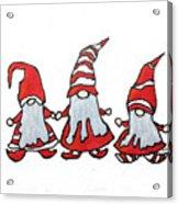 Gnomes Acrylic Print