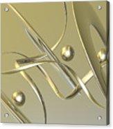 Gold Acrylic Print