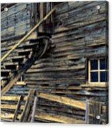 Golden Barn  Acrylic Print