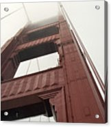 Golden Gate Tower Acrylic Print