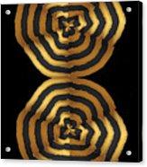 Golden Waves Hightide Natures Abstract Colorful Signature Navinjoshi Fineartartamerica Pixels Acrylic Print