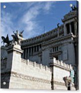 Government Building Rome Acrylic Print