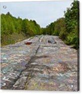 Graffiti Highway, Facing North Acrylic Print