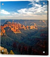 Grand Canyon National Park - Sunset On North Rim Acrylic Print