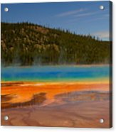 Grand Prismatic Pool IIi Acrylic Print