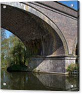 Grand Union Canal Bridge 181 Acrylic Print