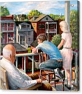Grandpa's Back Porch Acrylic Print