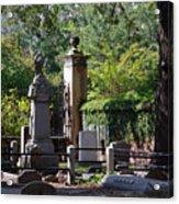 Graveyard In Charleston Acrylic Print