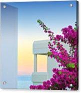 Greece 3  Acrylic Print by Emmanuel Panagiotakis
