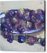 Greek Figs Acrylic Print