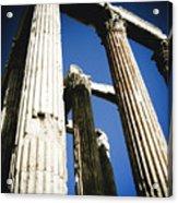 Greek Pillars Acrylic Print