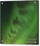Green Aurora Borealis, Icelandic Sky Acrylic Print