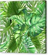 Green Tropic  Acrylic Print