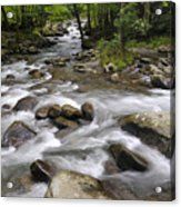 Greenbrier In The Great Smoky Mountains Acrylic Print