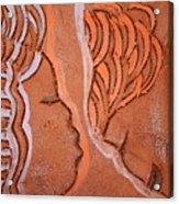 Greeting - Tile Acrylic Print