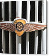 Grill Badge Acrylic Print