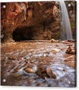 Grotto Falls Acrylic Print