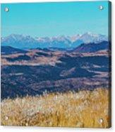 Grouse Mountain And Sangre De Cristo Acrylic Print