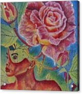 Growth Within Acrylic Print by Shahid Muqaddim