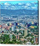 Guatemala City - Guatemala I Acrylic Print