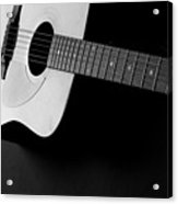 Guitar Instrument For Playing Music  Acrylic Print