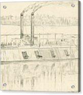 Gunboat Acrylic Print