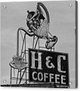 H C Coffee Acrylic Print